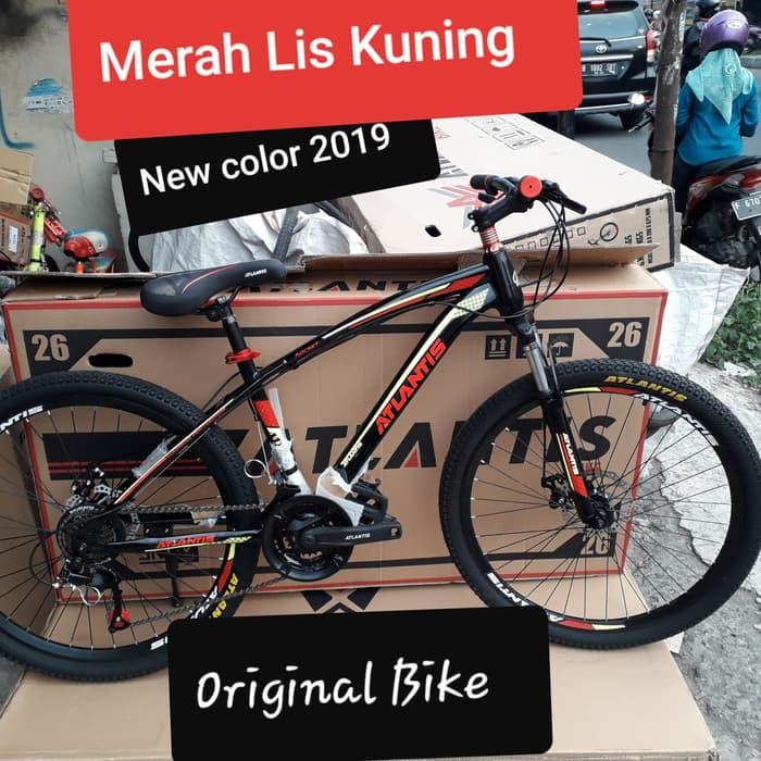 Promo Sepeda Gunung 26 MTB ATLANTIS REM CAKRAM Murah