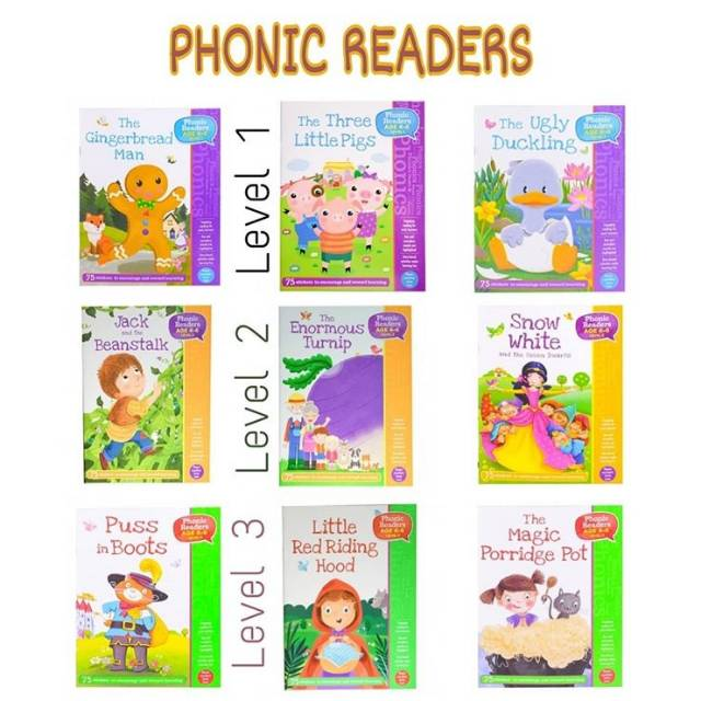 Phonic Readers Classic Story Book