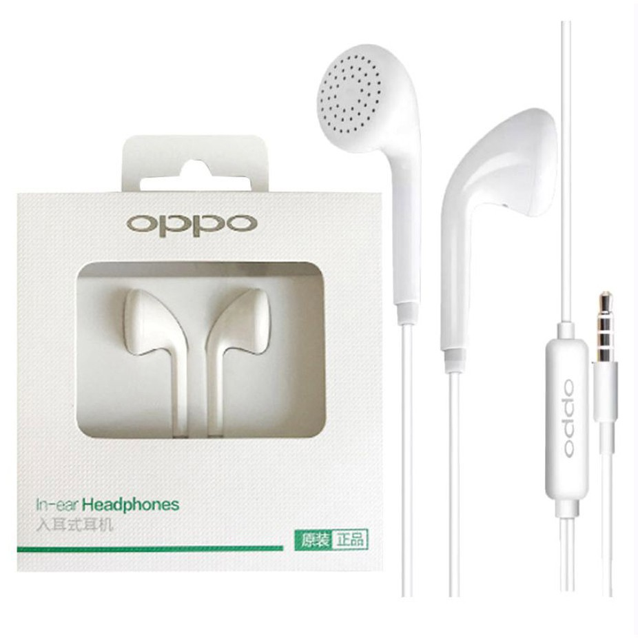 HEADSET OPPO HANDSFREE EARPHONE OPPO