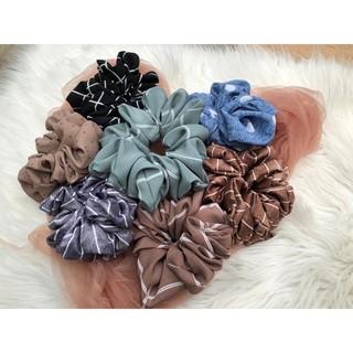 Scrunchie motif murah (random) 3