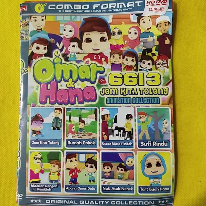 Terbaru Koleksi Film Omar Hana Kartun Animasi Anak Anak Dvd Hits