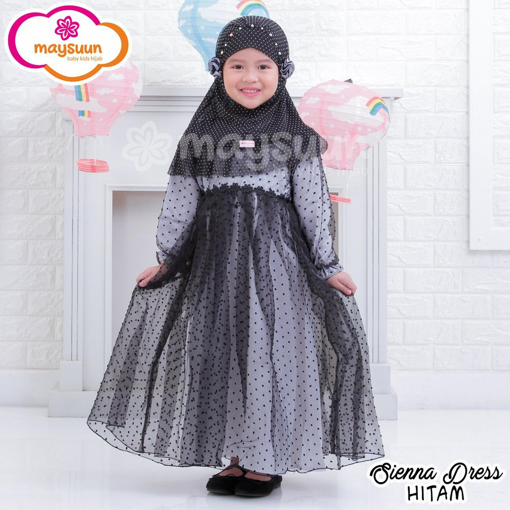 ( MEWAH ) Gamis Anak Terbaru Gamis Anak Perempuan baju Muslim Anak Premium  Dress Anak Cewek Maysuun