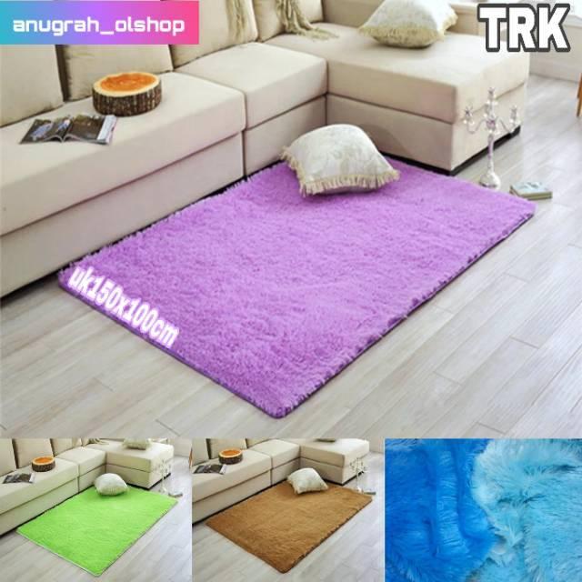 Karpet bulu trikot uk 150x100x1cm Shopee Indonesia