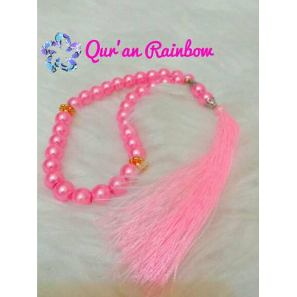 Terbagus Al Quran Rainbow Halimah Dan Tasbih Cantik Marwah Pelangi Madina Zhafira Shopee Indonesia