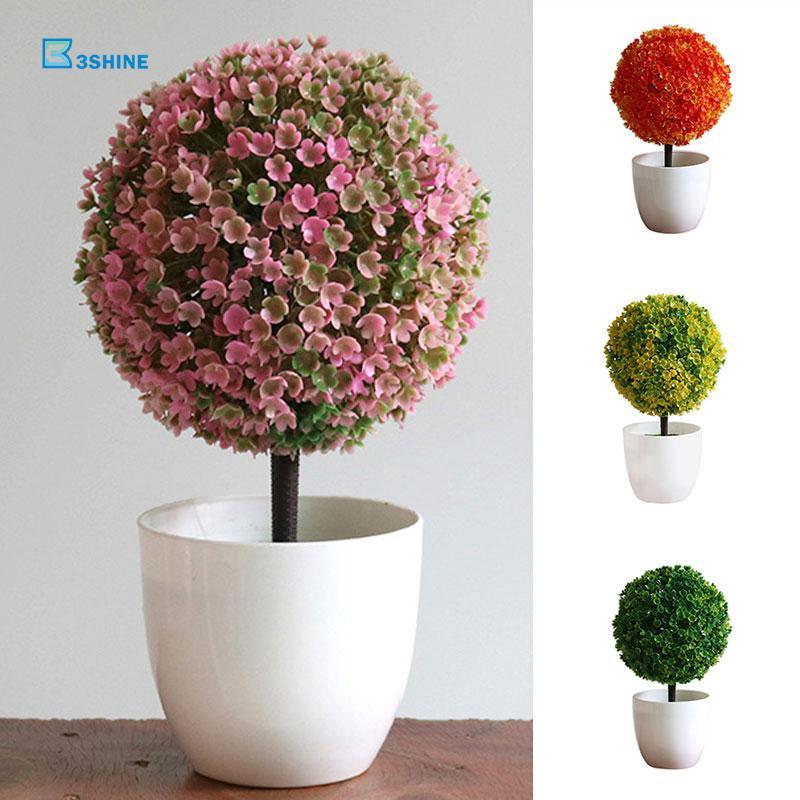 Tanaman Bunga Sakura Imitasi Bahan Plastik Ringan untuk Dekorasi Rumah ea4678123c