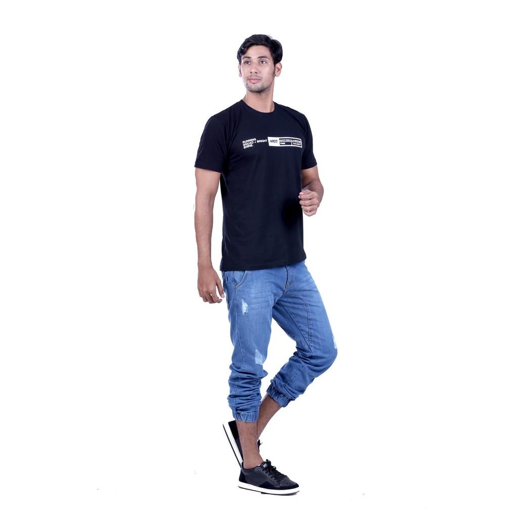 Fashion Bandung Kaos Katun Distro Pria H 0184 Original Hrcn Casual 0046 Shopee Indonesia