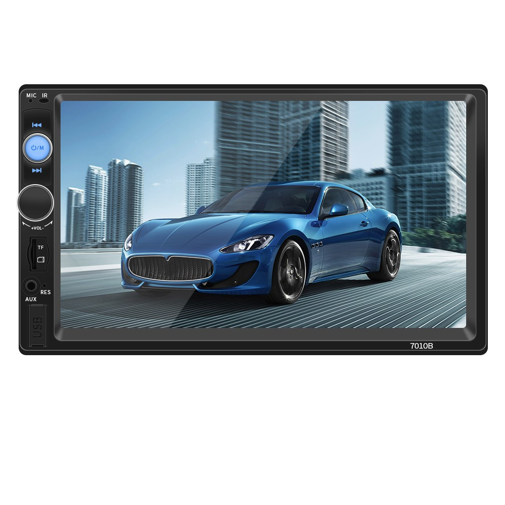 7/'/' Bluetooth Touch Screen 2DIN Car Radio Stereo MP5 Player//USB//TF//AUX Head Unit