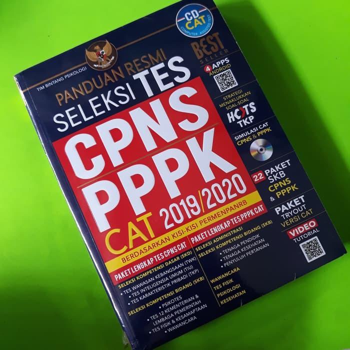 Cpns Pppk Buku Panduan Resmi Seleksi Tes Cpns Pppk Cat 2019 2020 Cpns 2019 Buku Cpns Cd