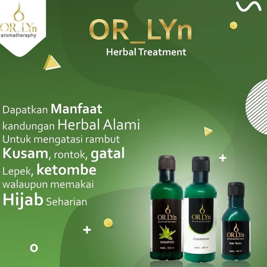 Orlyn Shampoo Original Nasa Mengatasi Masalah Rambut / Stockist Original Nasa-2
