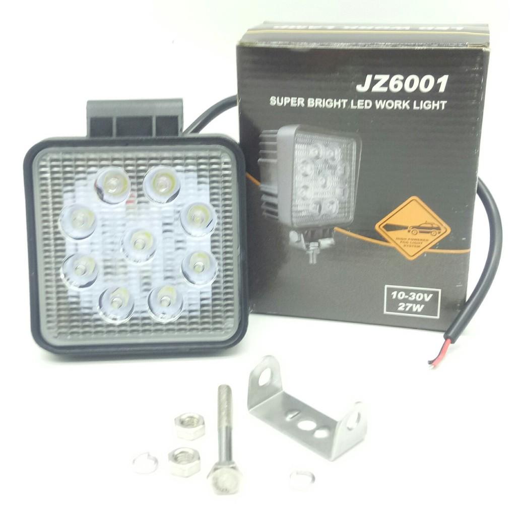 Limited Dijual Led Work Light 27watt Bulat 27 Watt 9 Titik Vn Murah Shopee Indonesia
