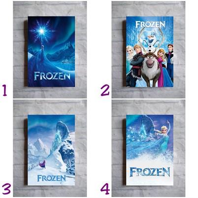 Poster Film Frozen 1 2013 Disney Anna Elsa Olaf Kristoff Hiasan Dinding Kayu Dekorasi Kamar Anak Shopee Indonesia