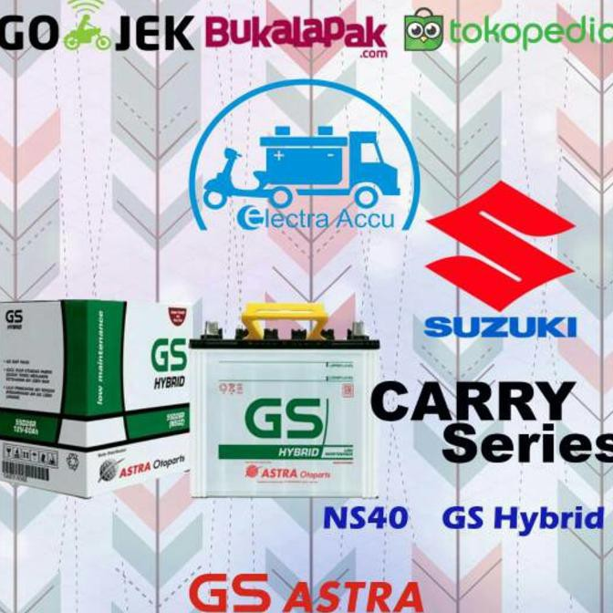 STOCK TERAKHIR AKI MOBIL GS ASTRA NS40 (MAINTENANCE FREE) TERMURAH PROMO RAMADHAN | Shopee Indonesia
