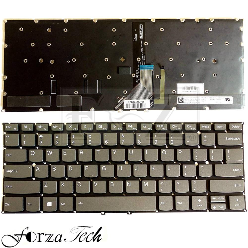 New Lenovo Yoga 720-13 Yoga 720-13IKB Laptop Keyboard US Black With Backlit