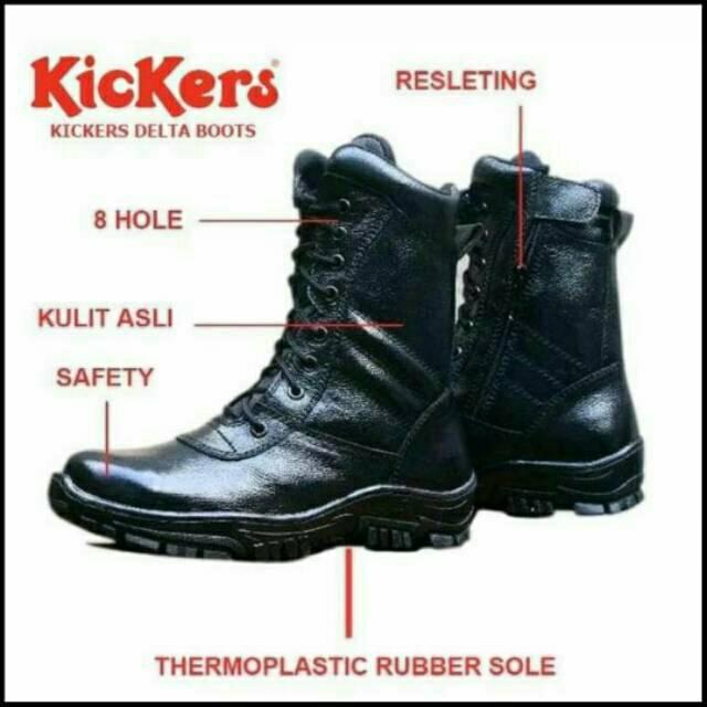 Sepatu Pria crocodile Indicator delta Boots Safety Tracking Kerja Proyek  Grade Original  c09641c4f4