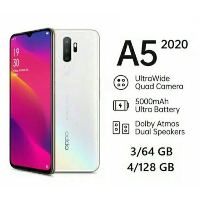 Oppo A5 2020 second/bekas