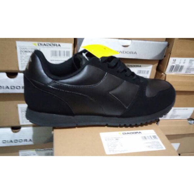 Sepatu Diadora Dante Black - Grey original murah  021b0ce4f1