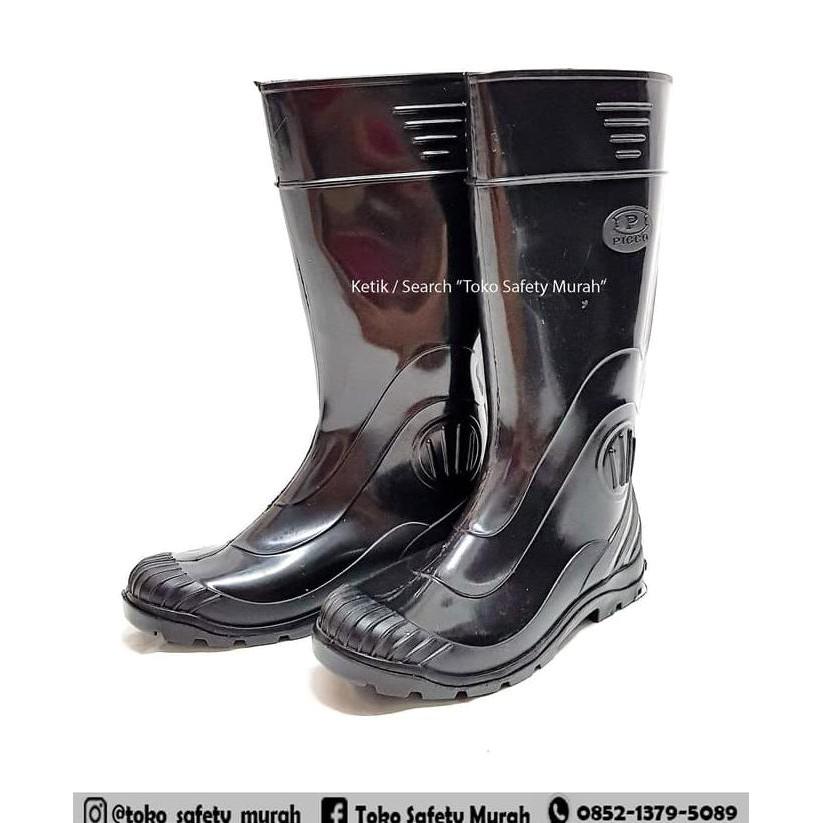 Sepatu Boot Hitam Panfik No. 40 41 42 43   Sepatu  dcef0afe32