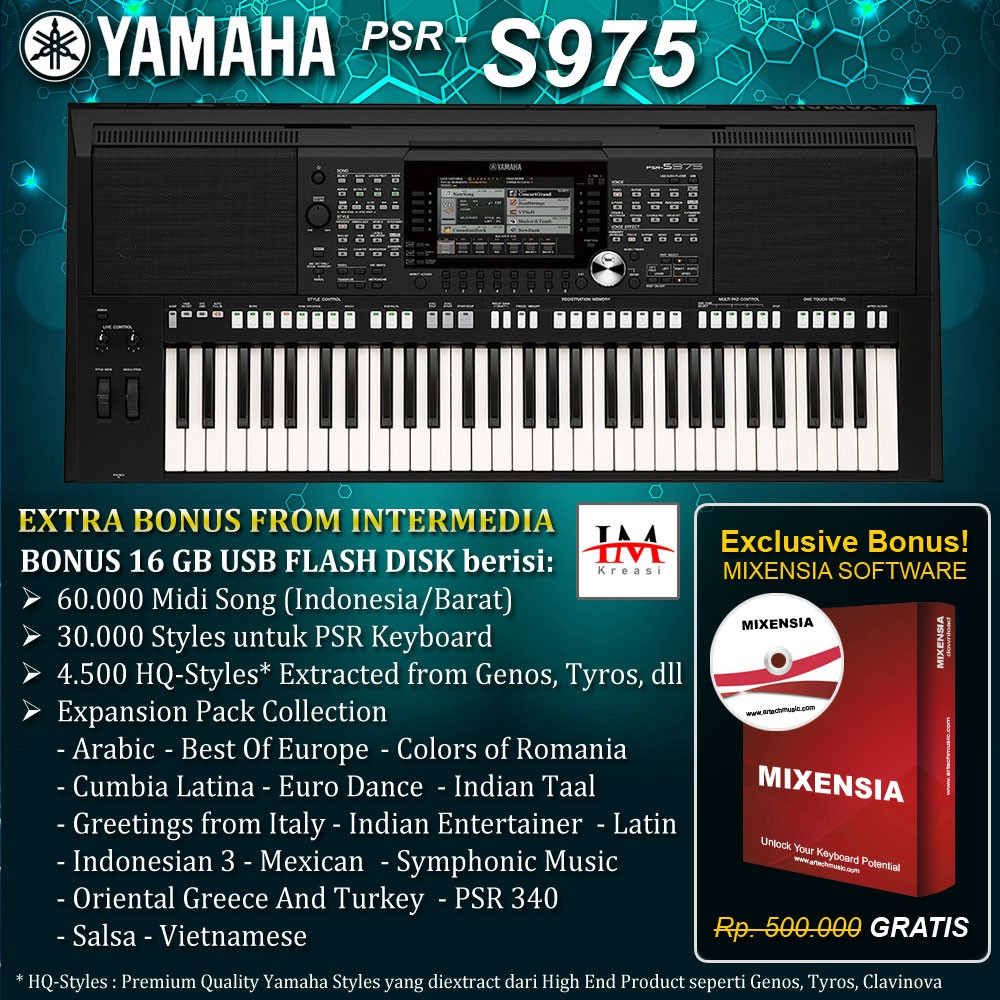 PSR S975 / PSRS975 / PSR-S975 / PSR S 975 Keyboard Yamaha
