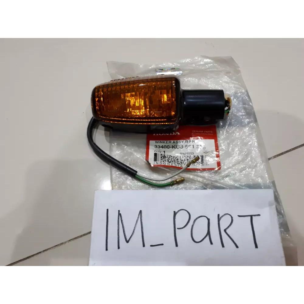 Lampu Sein Kanan Belakang Honda Tiger Lama Ori Shopee Indonesia Mika Lens Winker R Spacy Fi