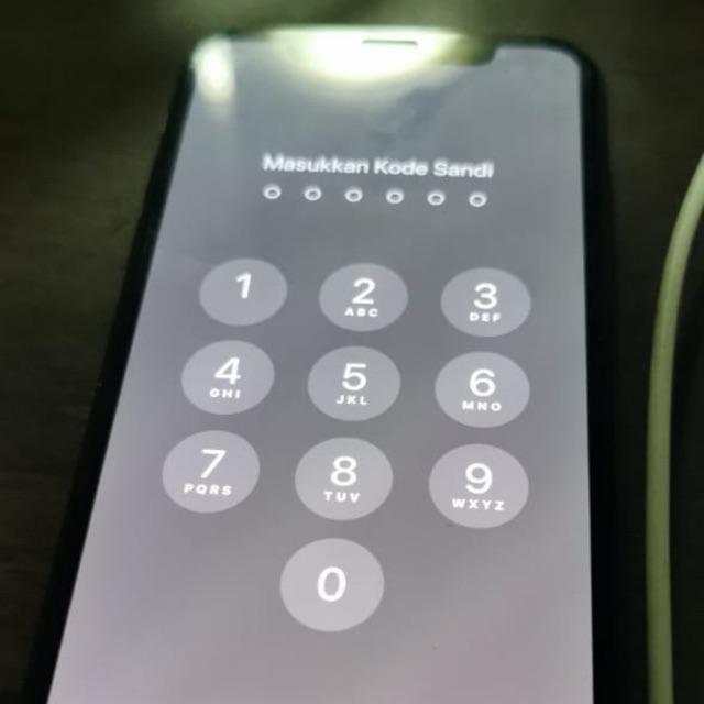 Iphone X 256gb Gray Lock Icloud Shopee Indonesia