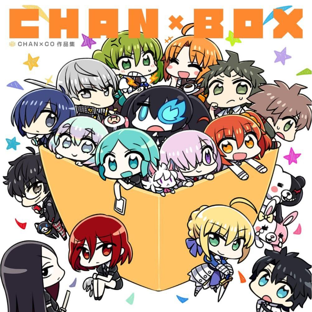 Happy Set Box Lukisan Chanxco Untuk Koleksi