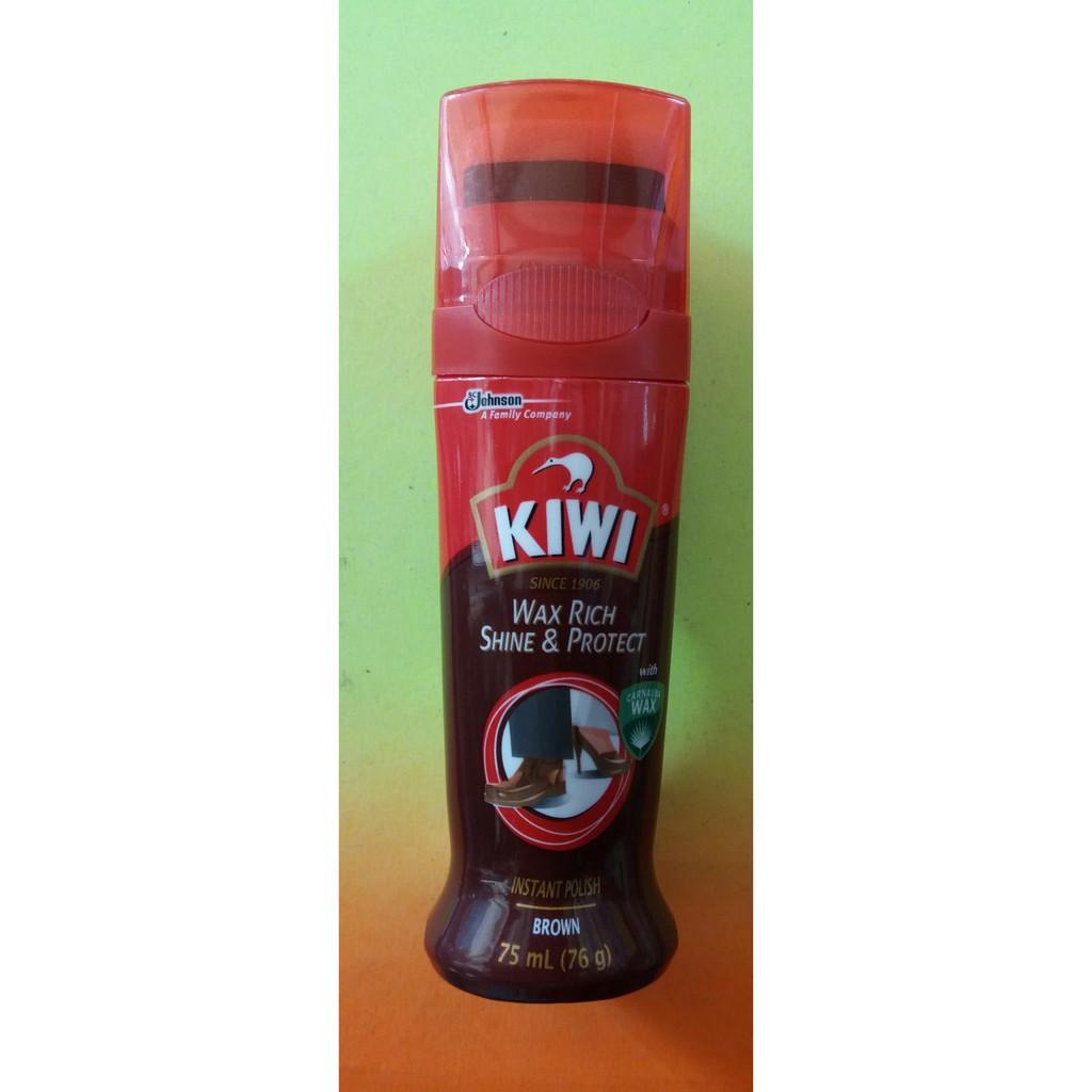 Kiwi Wax Semir Sepatu Rich Shine Protect Black 75 Ml Netral 3m Moto Pn11414 Body Protects Paint Instant Glow Terbaru And Neutral Intstan 75ml Shopee Indonesia