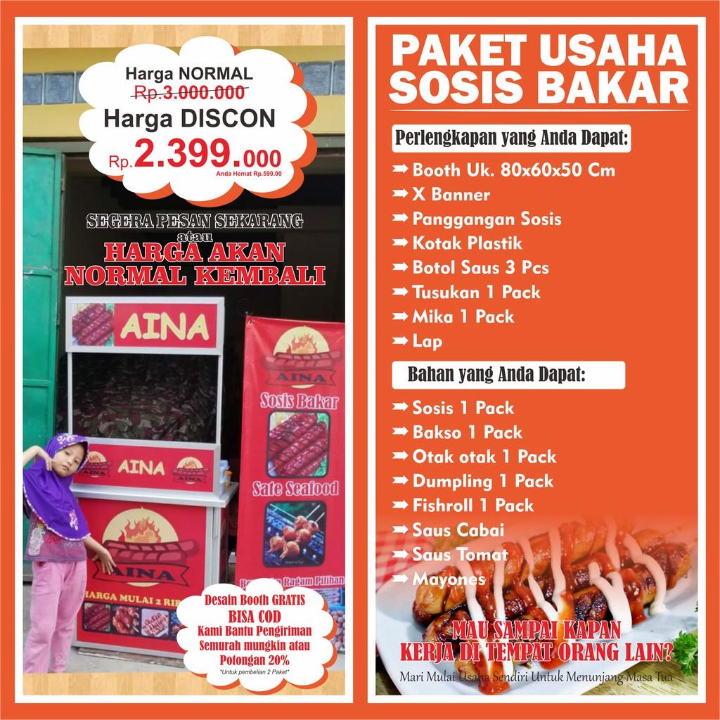 paket usaha sosis bakar langsung jalan shopee indonesia paket usaha sosis bakar langsung jalan
