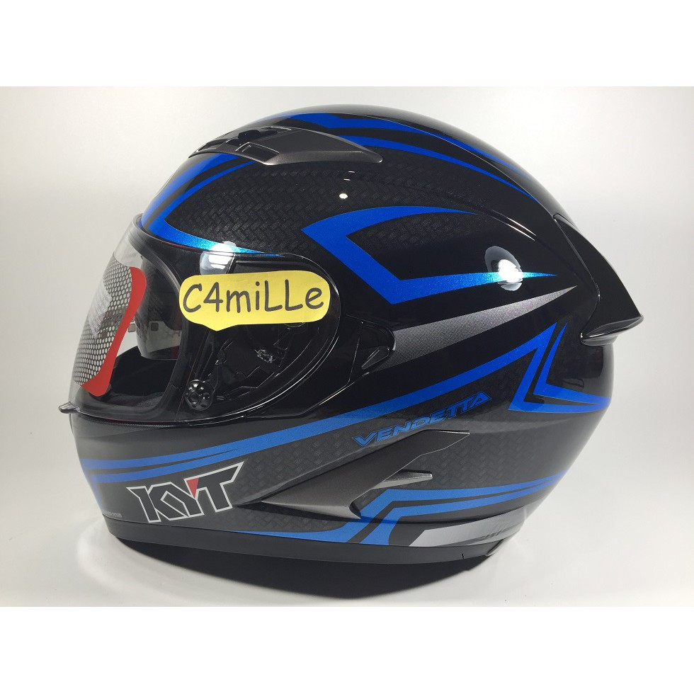Promo Snail Ffs1 Tricolor Terbaru 2018 310 White With Revo Blue Visor Helm Hitam Black Dof Green Full Face Rider Shopee Indonesia