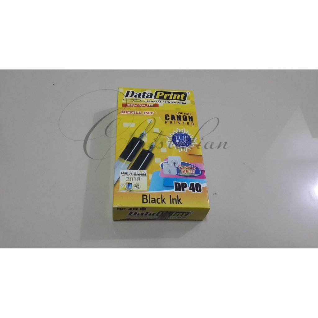 Tinta Suntik Data Print Black Dan Colour Untuk Semua Merk Canon Refill Ink Dataprint Dll Shopee Indonesia