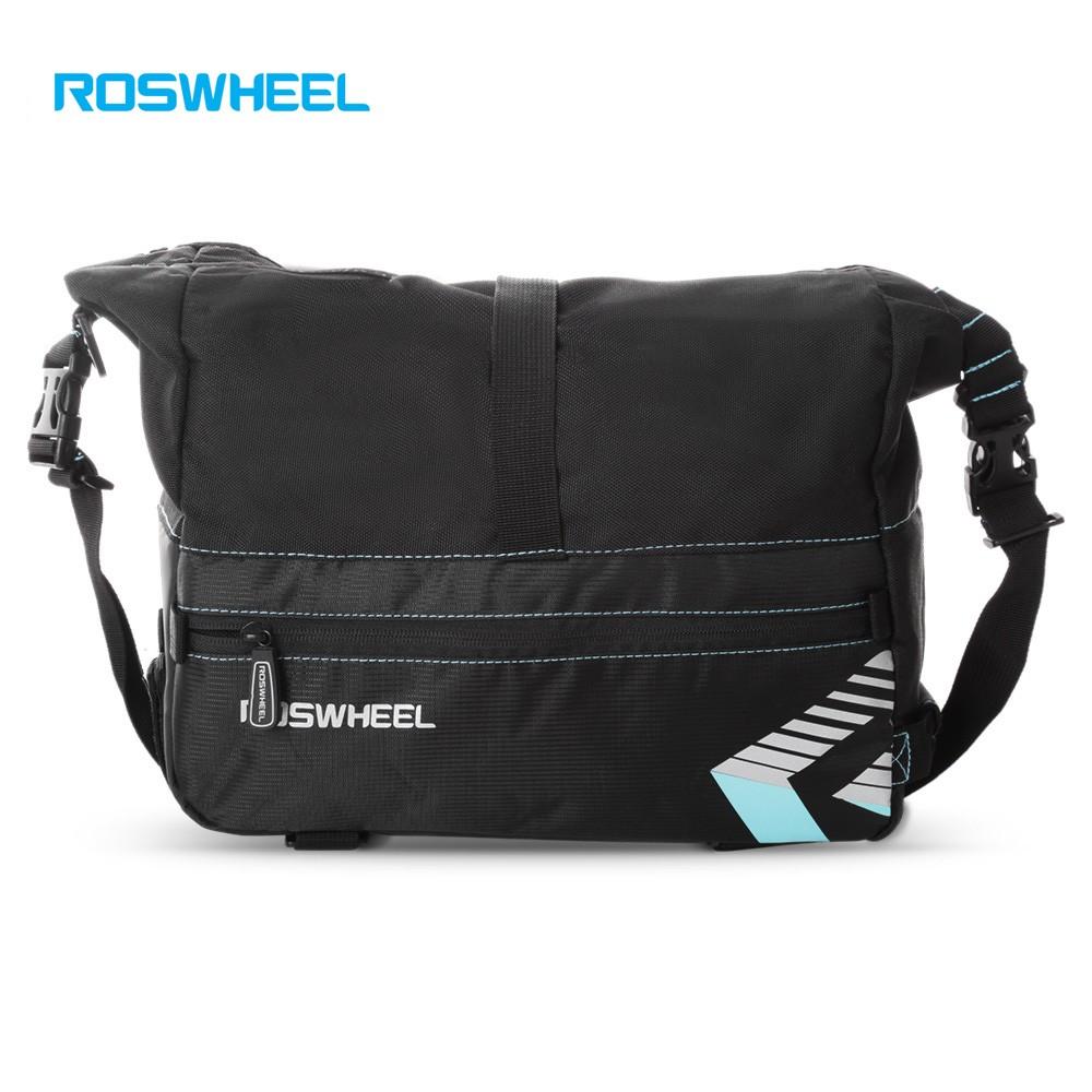 Roswheel 141415 Tas Pannier Untuk Rak Bagasi Belakang Sepeda Trunk Bag Shopee Indonesia