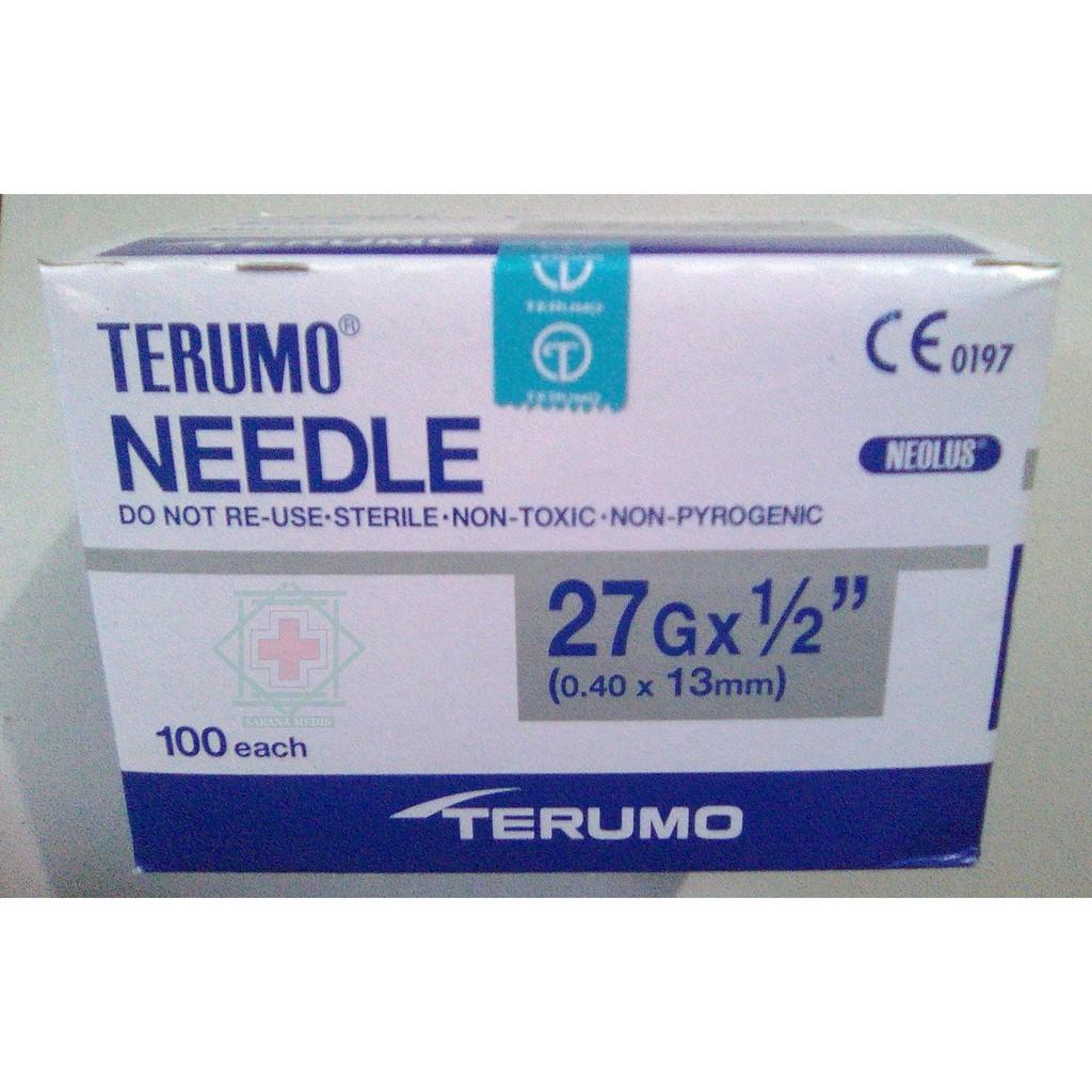 Needle 27G Terumo - Jarum Suntik