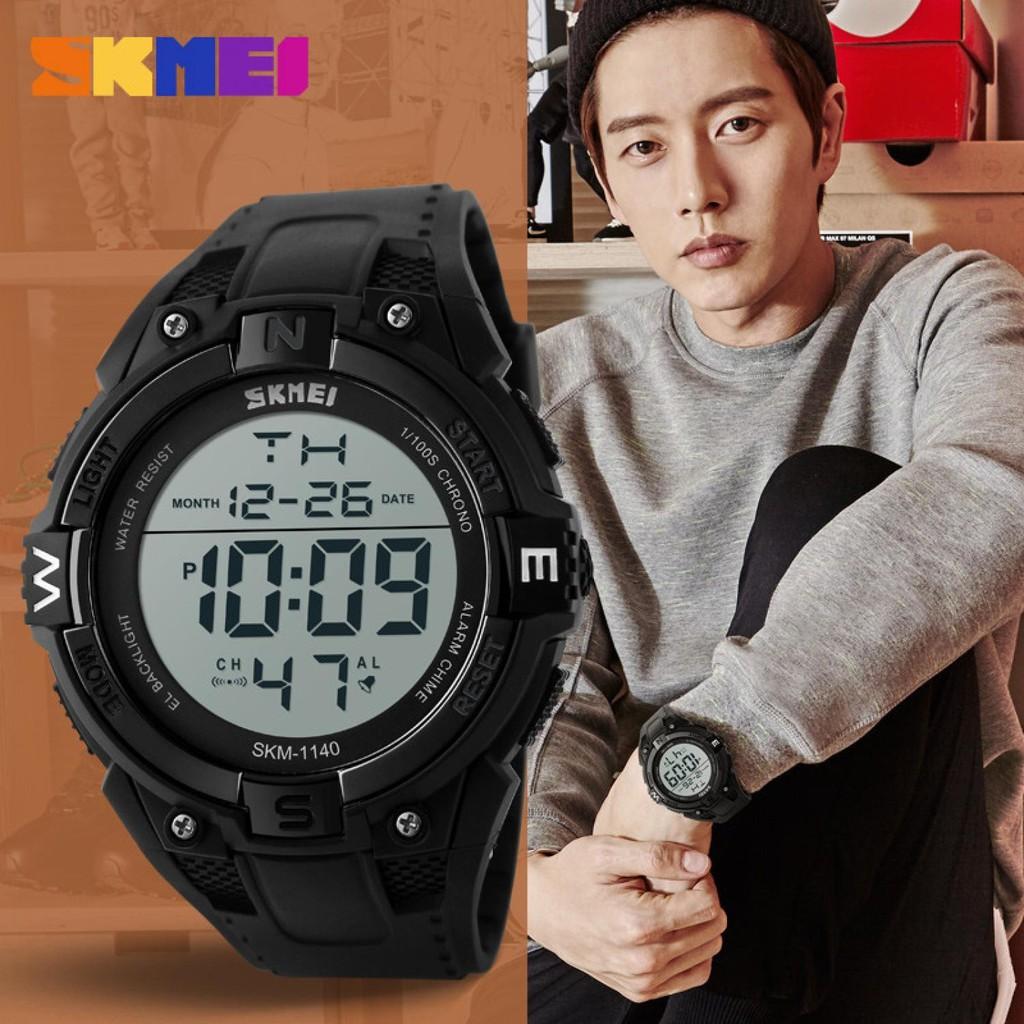 Skmei Jam Tangan Digital Pria Dengan Kompas 1259 Original Shopee Dg1231cm Indonesia