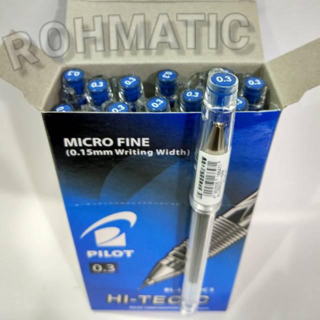 Semua Warna Pulpen Pilot Hitec 0 3 Hitech Hi Tech Pack Lusin Shopee Indonesia