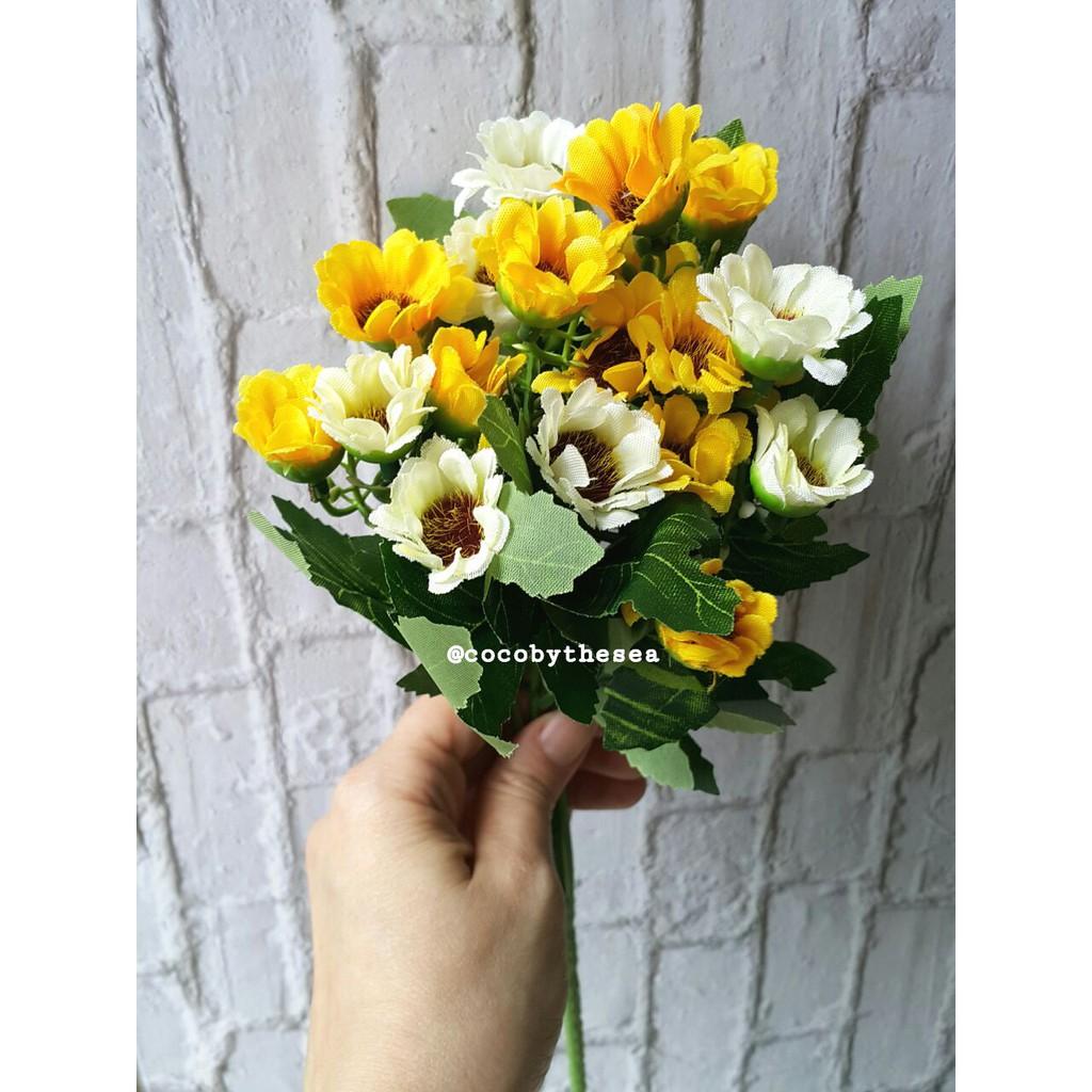 Bunga Daisy Kuning Shopee Indonesia