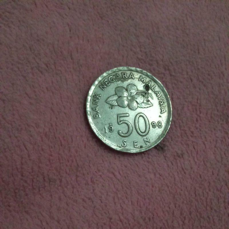 50 sen Malaysia 1998