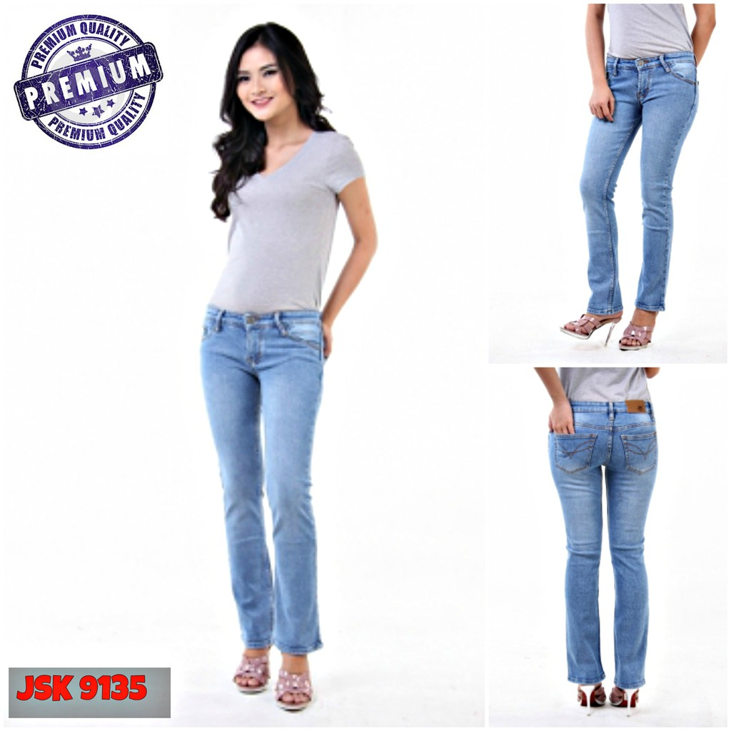 Highwaist Jeans With 5 Button Celana Pensil Dengan Polos Black Jsk9100 Size 27 38 Kancing Jsk 1830 Shopee Indonesia