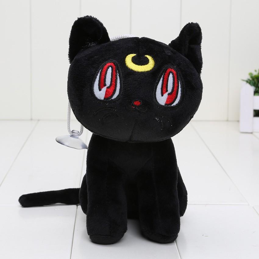 Boneka Kucing Hitam Luna Sailormoon Usagi Cat Sailormoon Japan Anime Jepang Shopee Indonesia