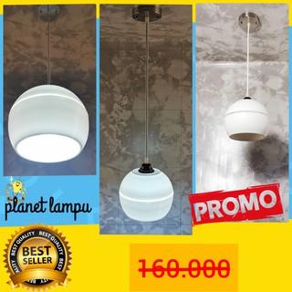 murah kap lampu gantung hias 3 in 1 minimalis cafe plafon