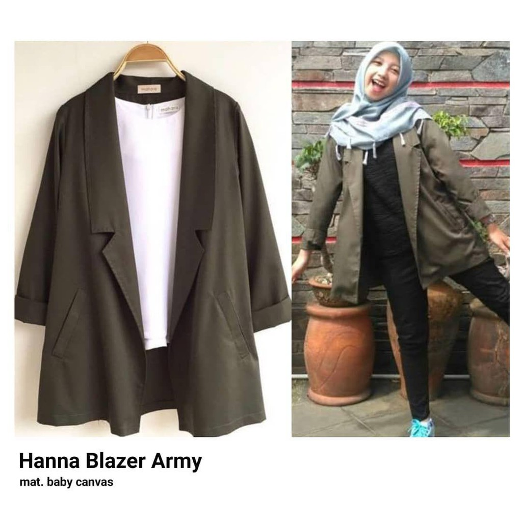 Bercys Stripe Blazer C273 REAL PIC Pakaian Wanita Bahan bagus Baju  Kantor Jas  6f2684d1ba