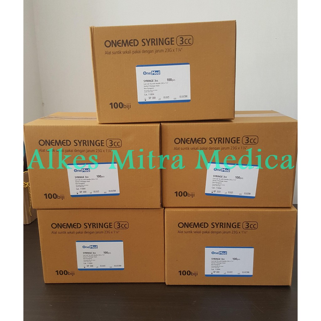 Up To 29 Discount From Mitramedica Wing Needle 27g Onemed Spuit 3cc 3ml Suntikan Syringe Is
