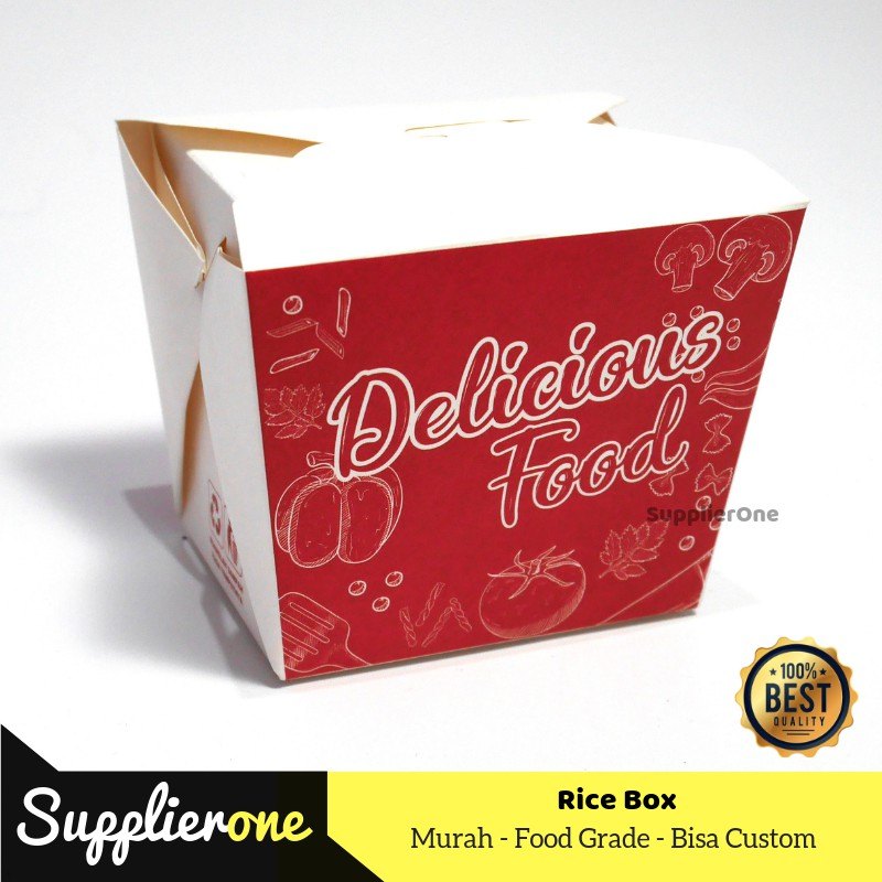 Kemasan Rice Box Food Pail Box Foodpail Kemasan Food Pail Food