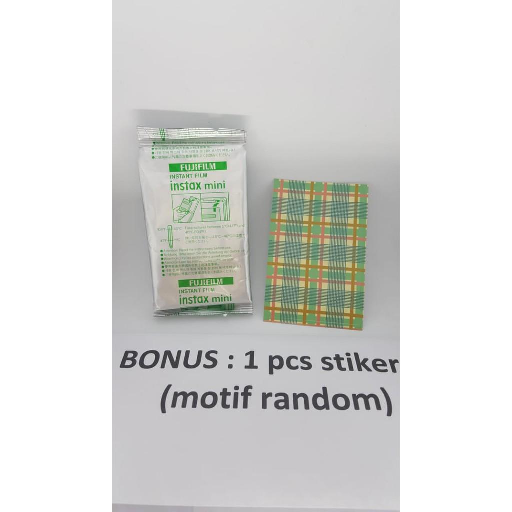 Fujifilm Instax Mini 8 Minion Garansi Resmi Shopee Indonesia Refill Film Plain 40 Lembar Twinpack Free Masking Sticker
