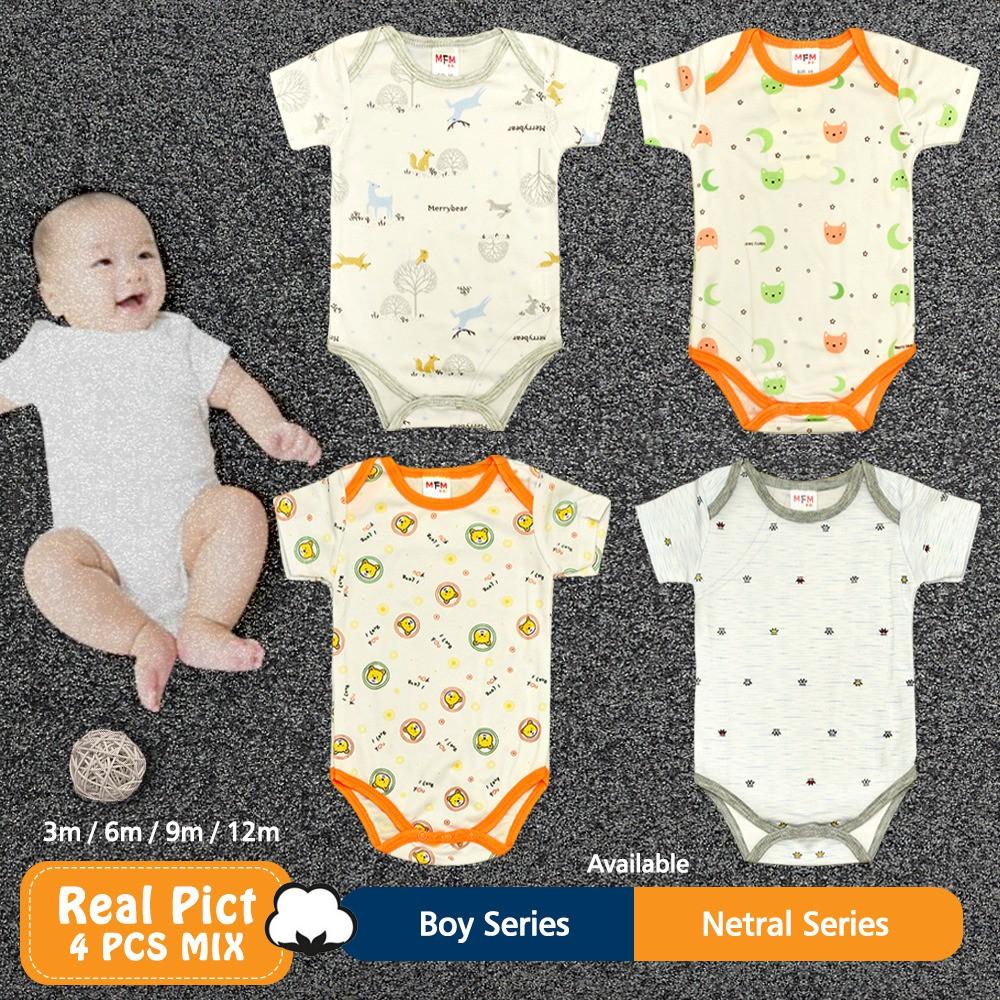 Baju Bayi Laki Laki 0 12 Bulan