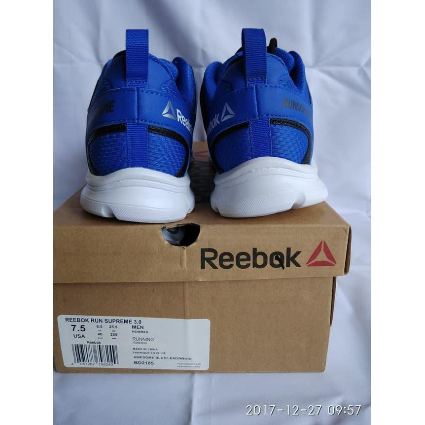 2fb71e48419 Dijual   SEPATU ORIGINAL Sepatu Running Reebok Run Supreme 3.0 warna biru  .