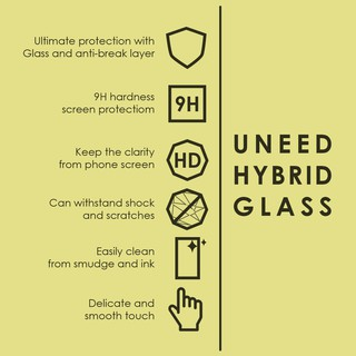Uneed Hybrid Glass Screen Protector 9H for iPhone 6 Plus / 6S Plus .