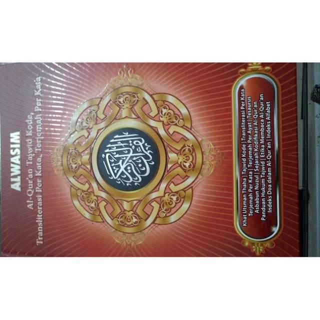 Al Quran Al Wasim A4 Terjemah Perkata Latin Tajwid Kode Angka Free Tasbih
