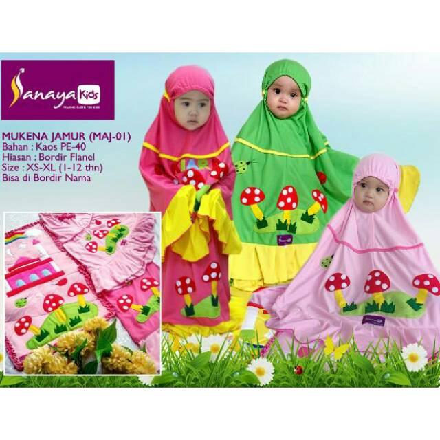 Mukena Anak Sanaya Kids Hello Kitty Fit L Pink - Mukena Anak Sanaya Kids Termurah - SALE !!! | Shopee Indonesia