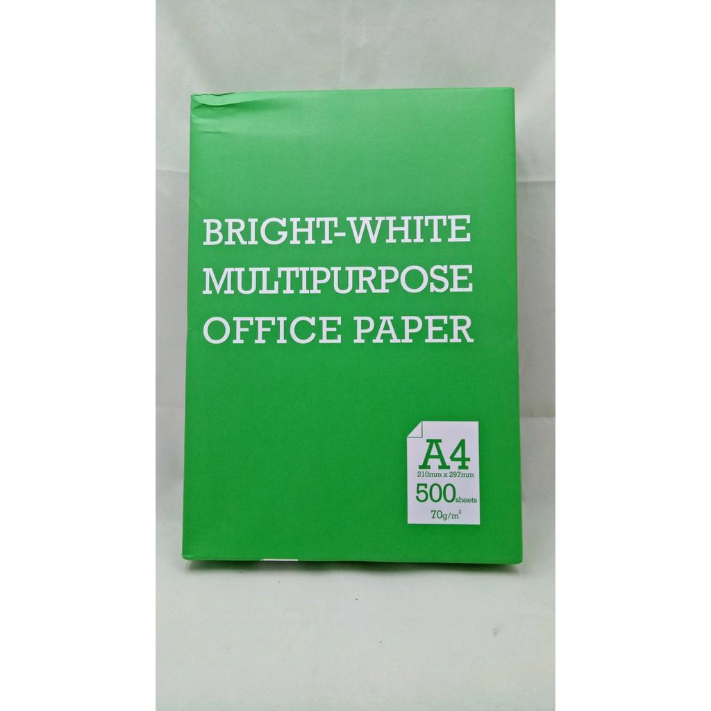 E Print Matte Sticker Paper A4 100 Gsm Isi 20 Pcs Shopee Indonesia One Hvs 80 1 Ream