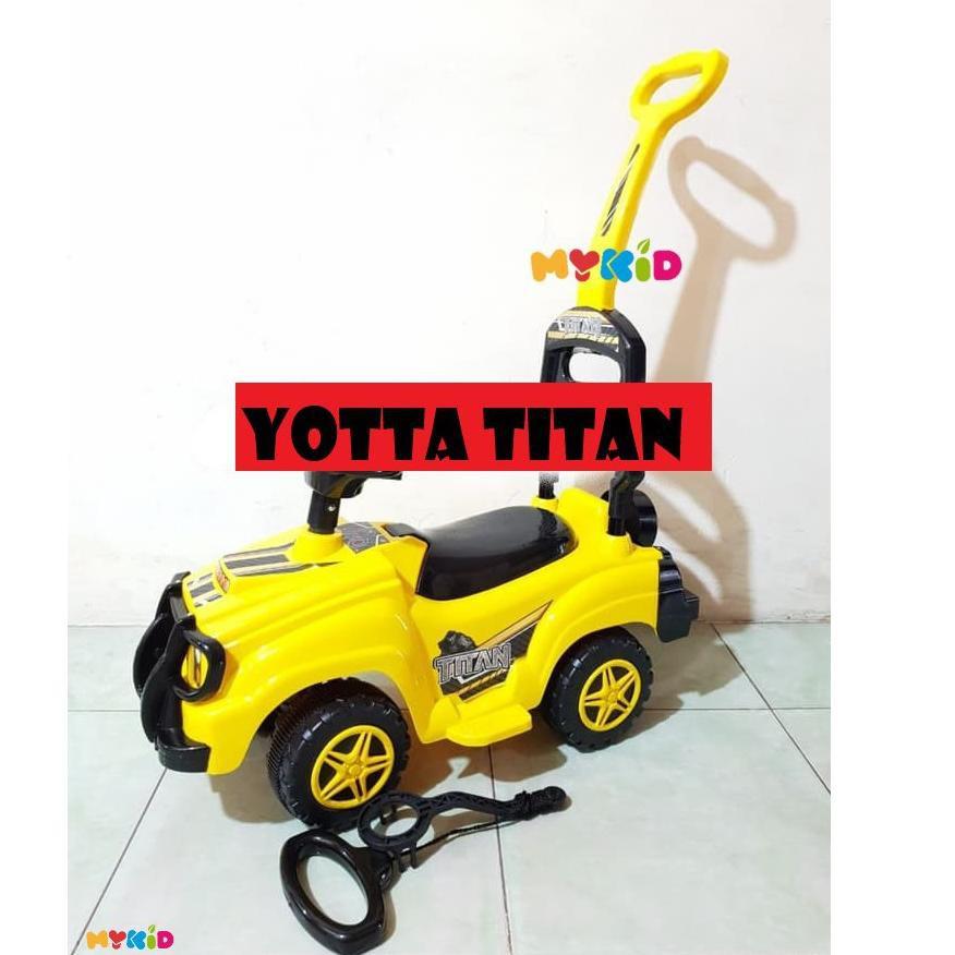 Kekinian Yotta Titan Mobilan Dorong Anak Mobilan Anak Mainan Anak Ride On Car Mobilan Duduk Anak Shopee Indonesia