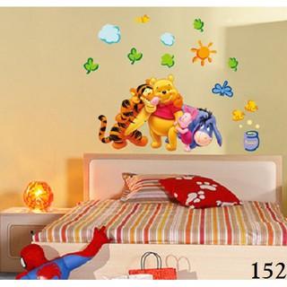 Shopee Perlengkapan Rumah Dekorasi Wallpaper & Wall Sticker Wallsticker / Wallstiker / Wall Stiker / Stiker Dinding 152 Pooh Family. suka: 47